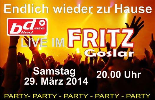 Live in Goslar @ Fritz | Goslar | Niedersachsen | Deutschland